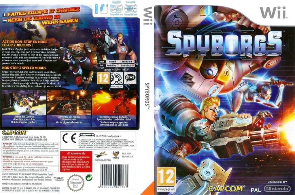 Spyborgs Wii coverfullHQ (RSWP08)