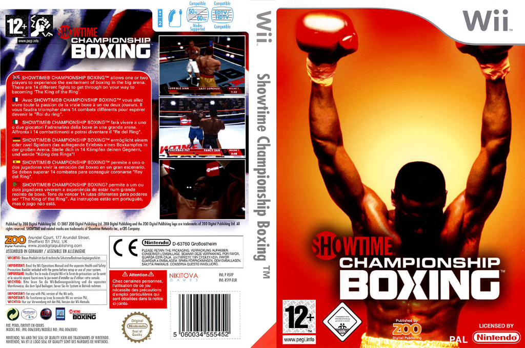 Showtime Championship Boxing Wii coverfullHQ (RSYP7J)