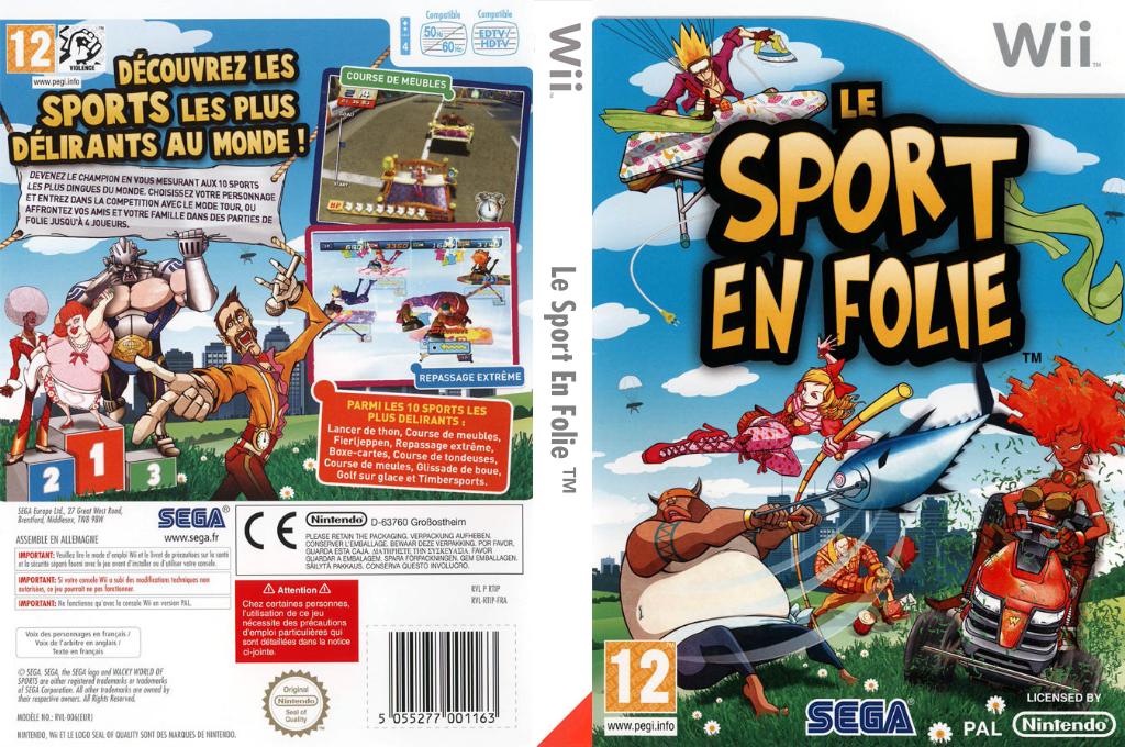 Le Sport en Folie Wii coverfullHQ (RTIP8P)