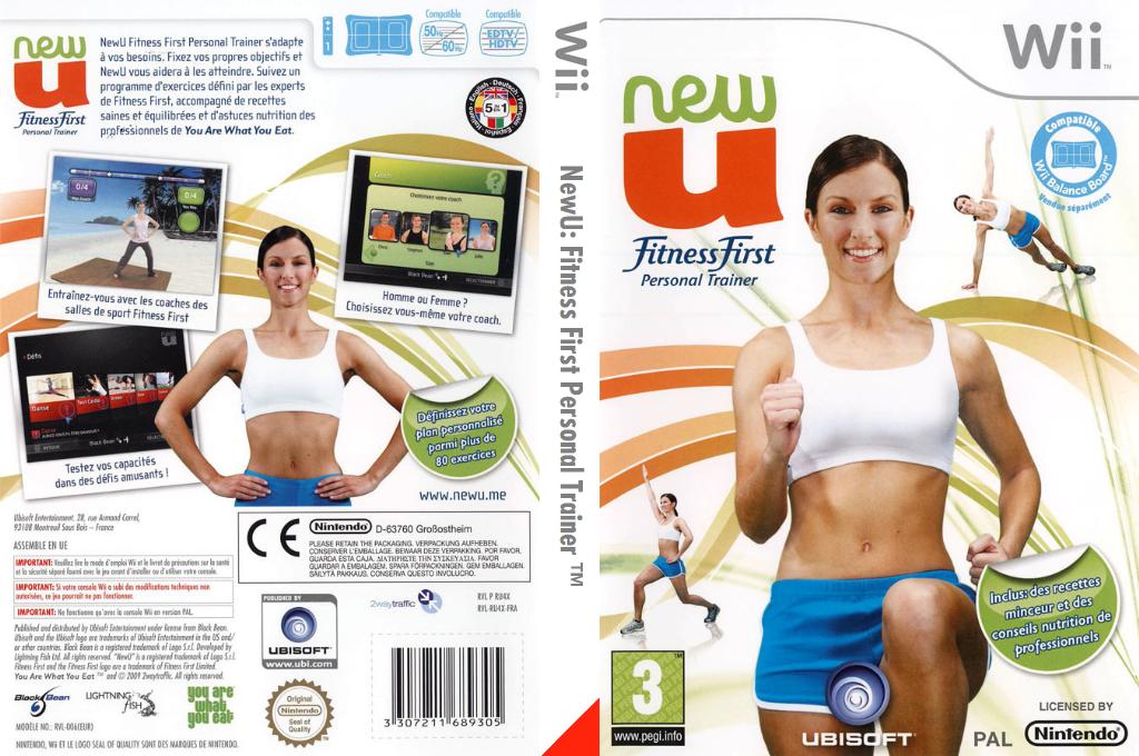 NewU:Fitness First Personal Trainer Wii coverfullHQ (RU4X41)