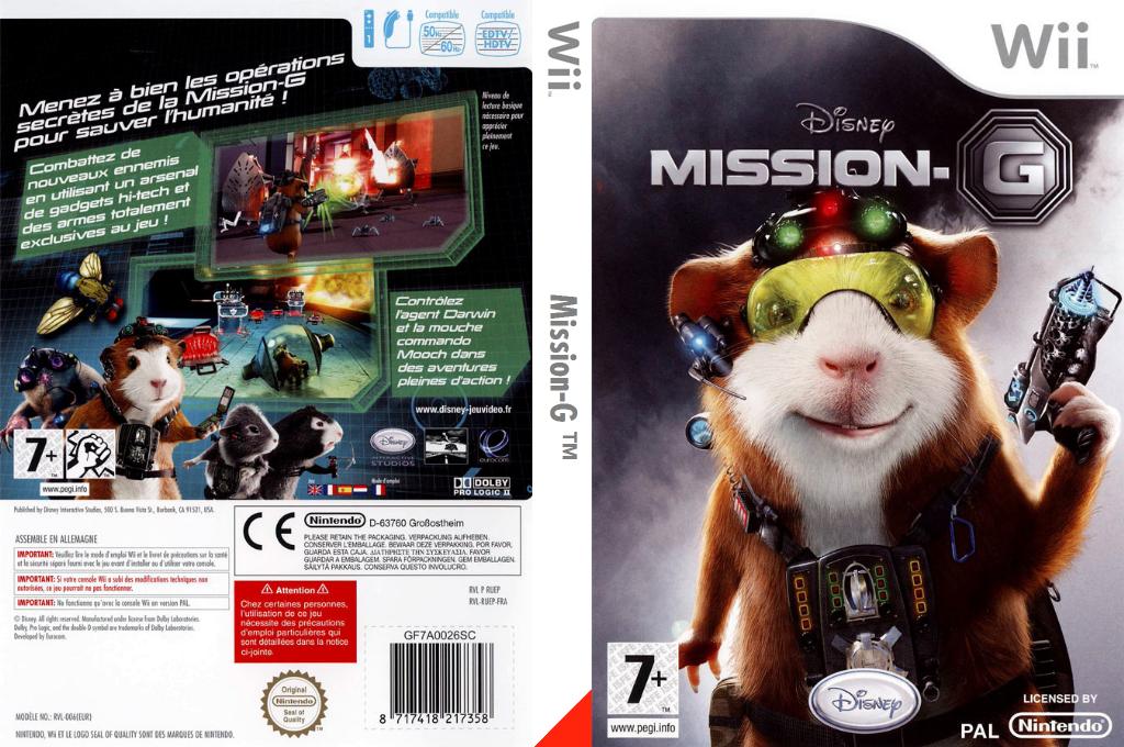Mission-G Wii coverfullHQ (RUEX4Q)