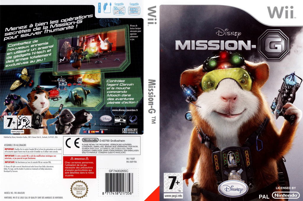 Mission-G Wii coverfullHQ (RUEY4Q)