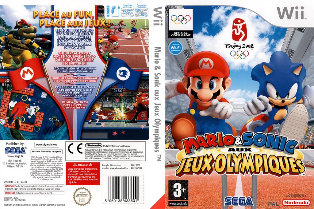 Mario & Sonic aux Jeux Olympiques Wii coverfullHQ (RWSP8P)