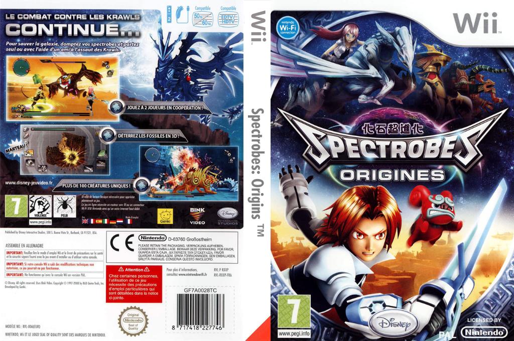 Spectrobes:Origins Wii coverfullHQ (RXXP4Q)