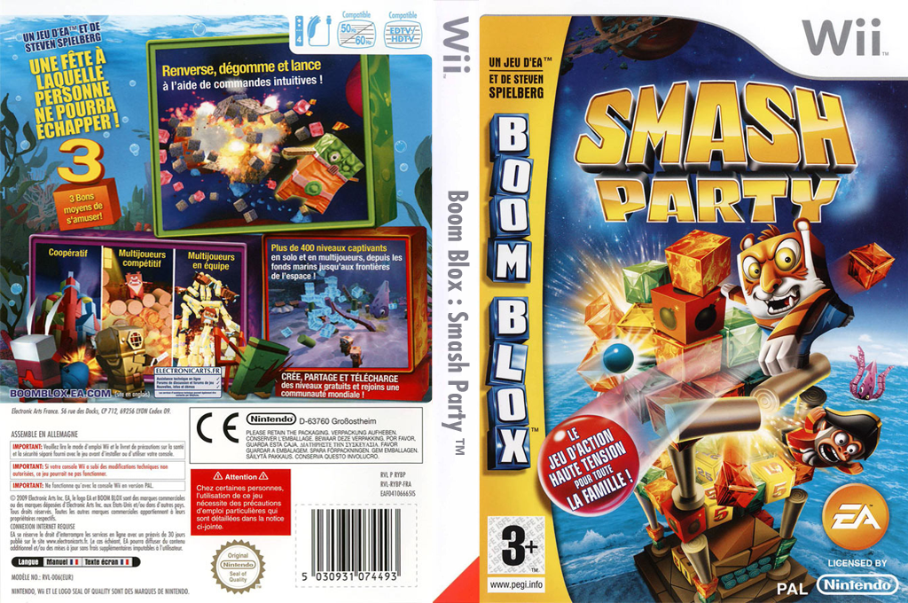 Boom Blox : Smash Party Wii coverfullHQ (RYBP69)