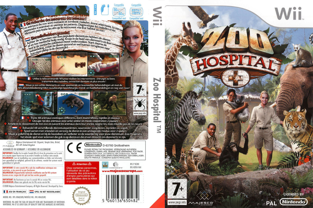 Zoo Hospital Wii coverfullHQ (RZHP5G)