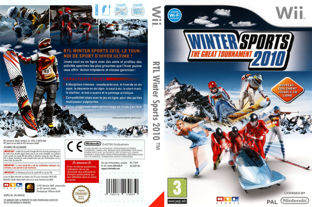Winter Sports 2010 : The Great Tournament Wii coverfullHQ (RZIPRT)