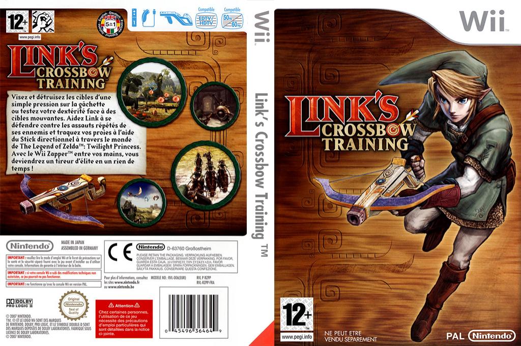 Link's Crossbow Training Wii coverfullHQ (RZPP01)
