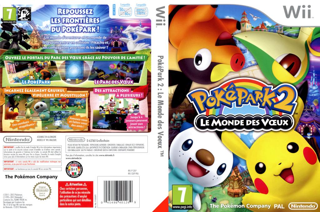 PokéPark 2:Le Monde des Voeux Wii coverfullHQ (S2LP01)