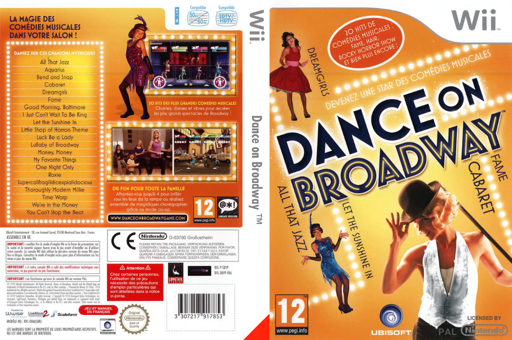 Dance on Broadway Wii coverfullHQ (SBYP41)