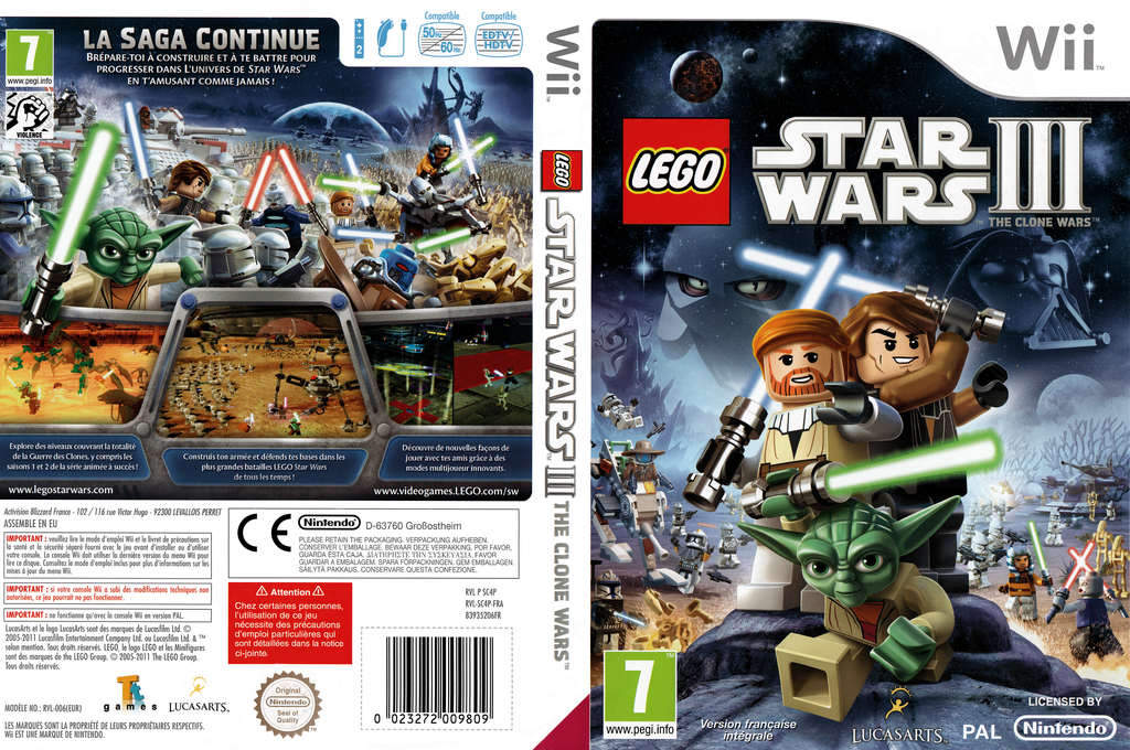 LEGO Star Wars III : The Clone Wars Array coverfullHQ (SC4P64)