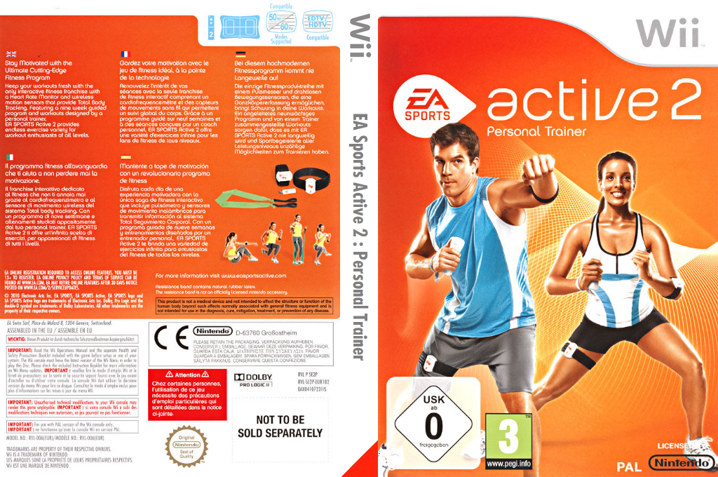 EA Sports Active 2 Array coverfullHQ (SE2P69)