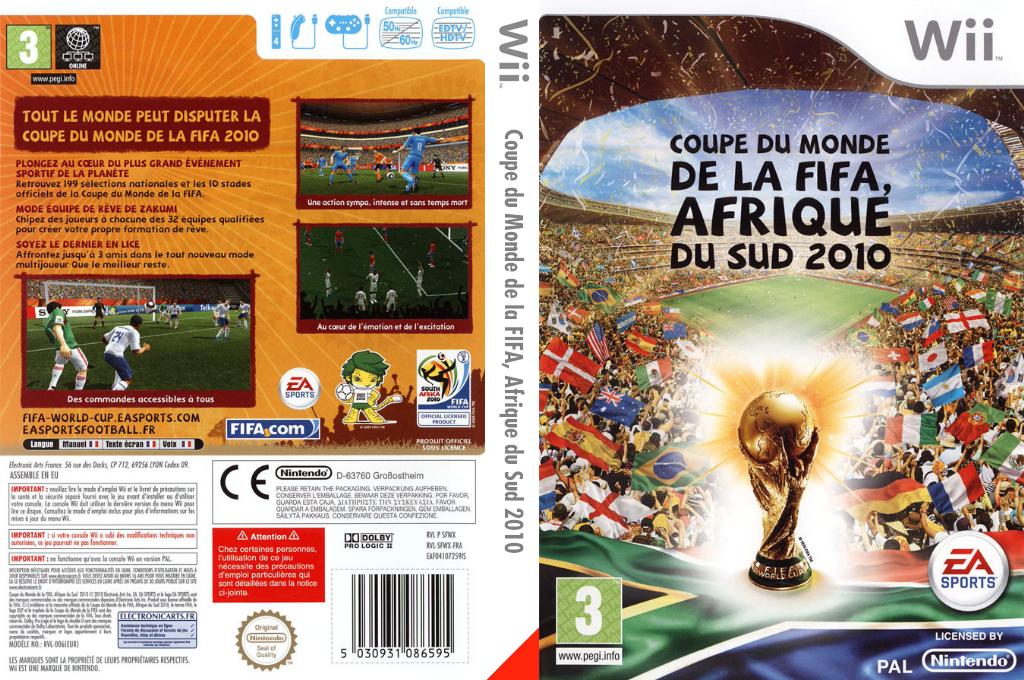 Coupe du Monde de la FIFA, Afrique du Sud 2010 Wii coverfullHQ (SFWX69)