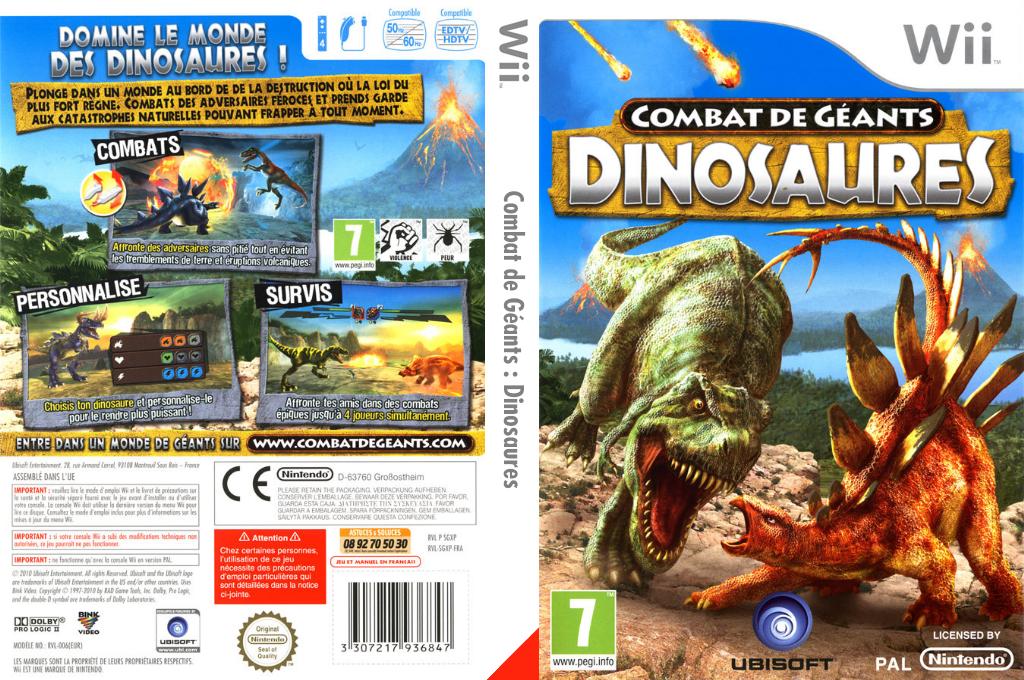 Combat de Géants: Dinosaures Array coverfullHQ (SGXP41)