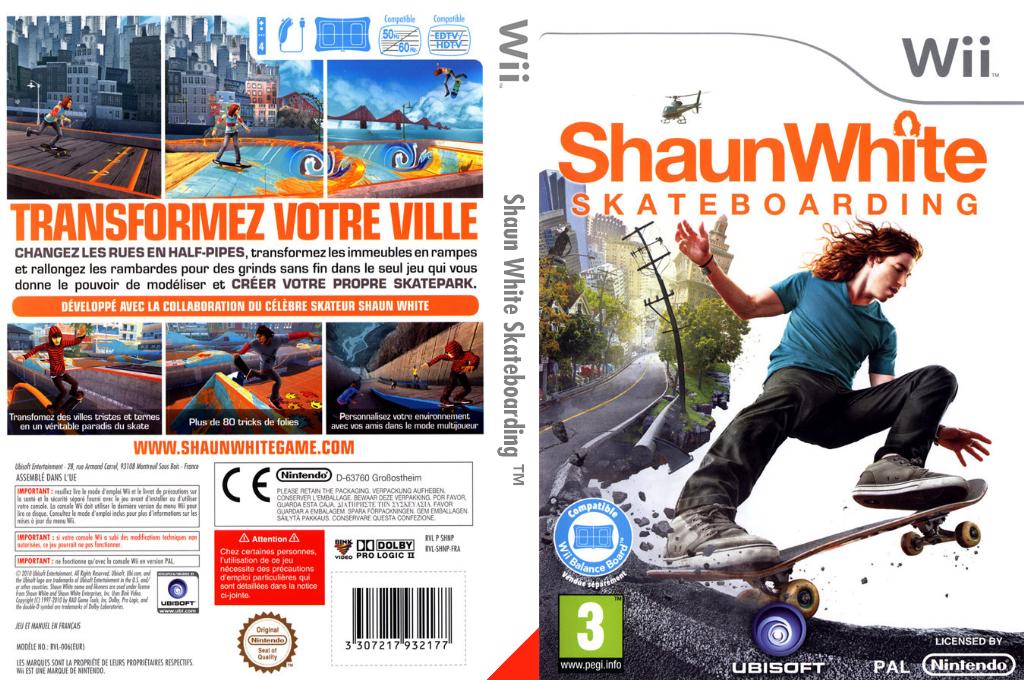 Shaun White Skateboarding Wii coverfullHQ (SHNP41)