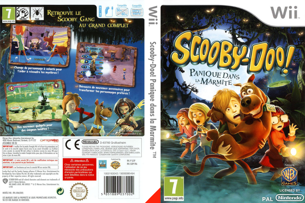 Scooby-Doo! Panique dans la Marmite Wii coverfullHQ (SJ2PWR)