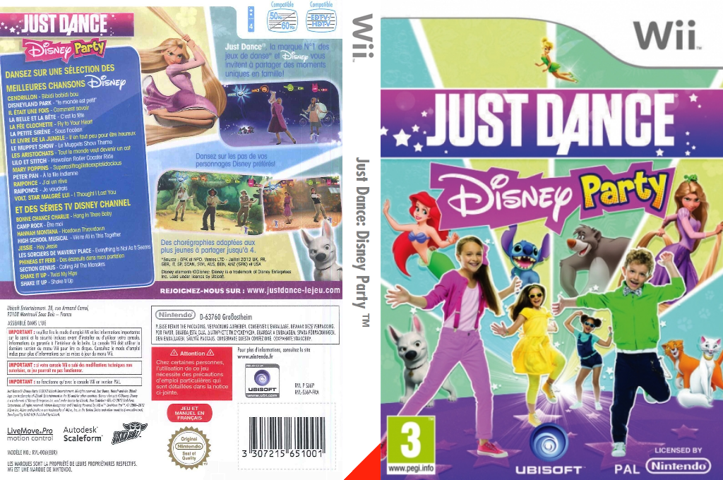 Just Dance Disney Party Wii coverfullHQ (SJ6P41)