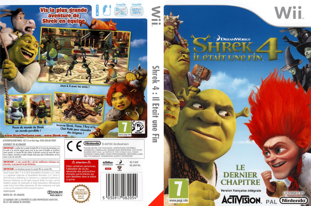 Shrek 4:Il Etait une Fin Wii coverfullHQ (SK4P52)