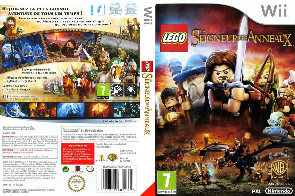 LEGO Le Seigneur des Anneaux Wii coverfullHQ (SLRPWR)