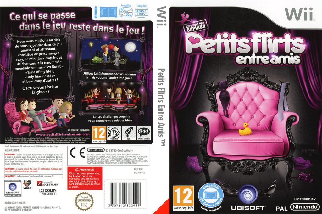 Petits Flirts Entre Amis Wii coverfullHQ (SLVP41)