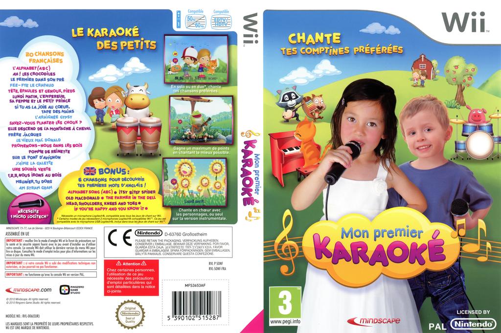 Mon Premier Karaoké Wii coverfullHQ (SONFMR)