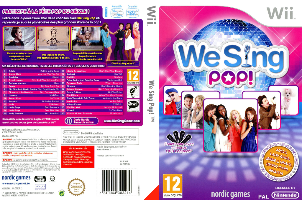 We Sing Pop! Wii coverfullHQ (SQEPNG)