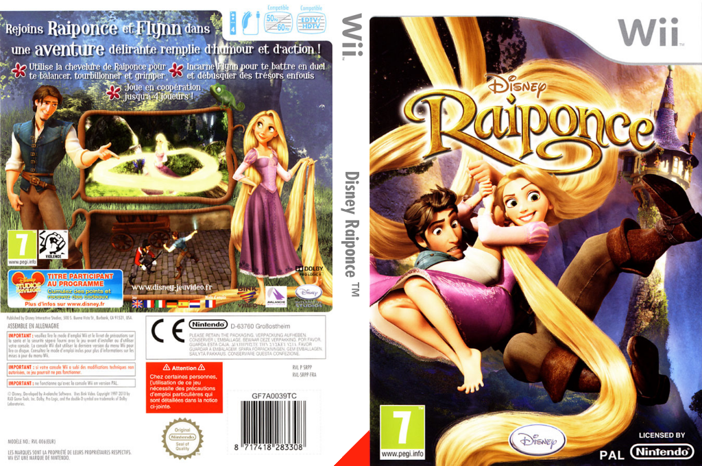 Disney Raiponce Wii coverfullHQ (SRPP4Q)