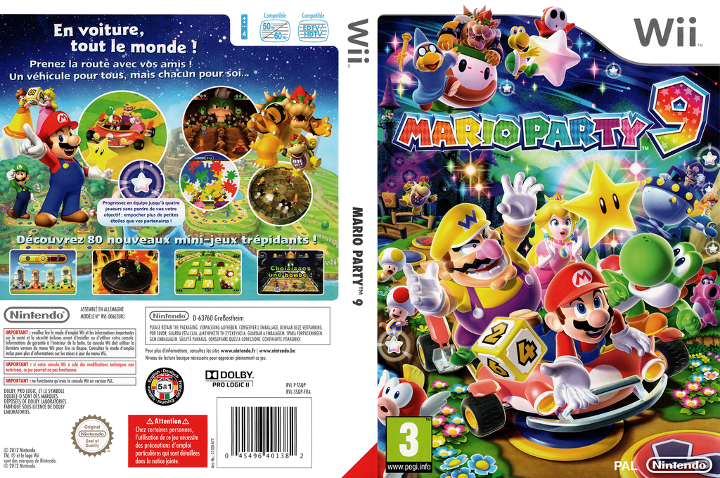 Mario Party 9 Array coverfullHQ (SSQP01)