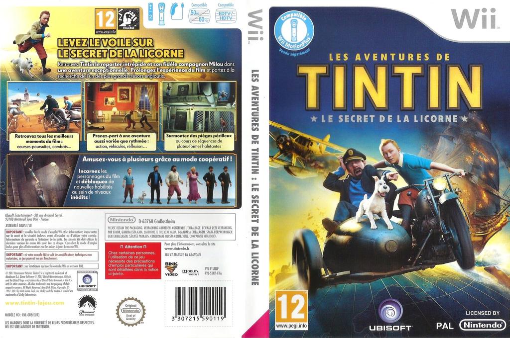 Les Aventures de Tintin :Le Secret de la Licorne Array coverfullHQ (STNP41)