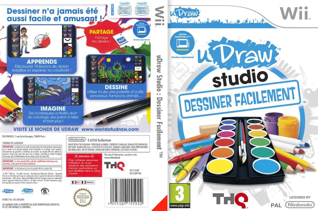 uDraw Studio:Dessiner Facilement Wii coverfullHQ (SUUP78)