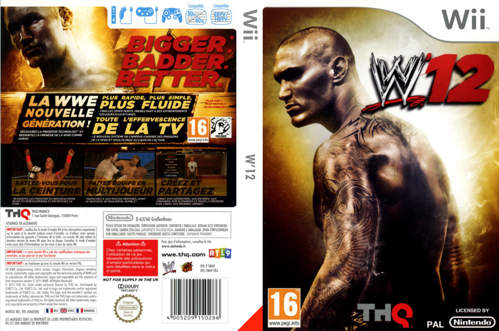 WWE '12 Array coverfullHQ (SW6P78)