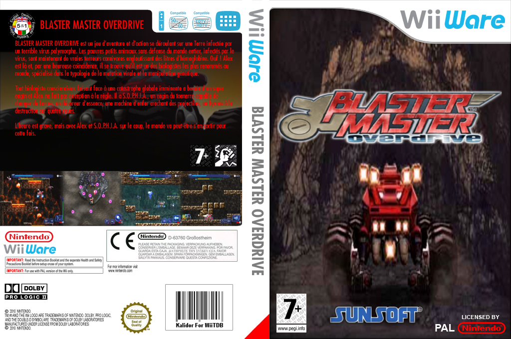 Blaster Master Overdrive Wii coverfullHQ (W2MP)