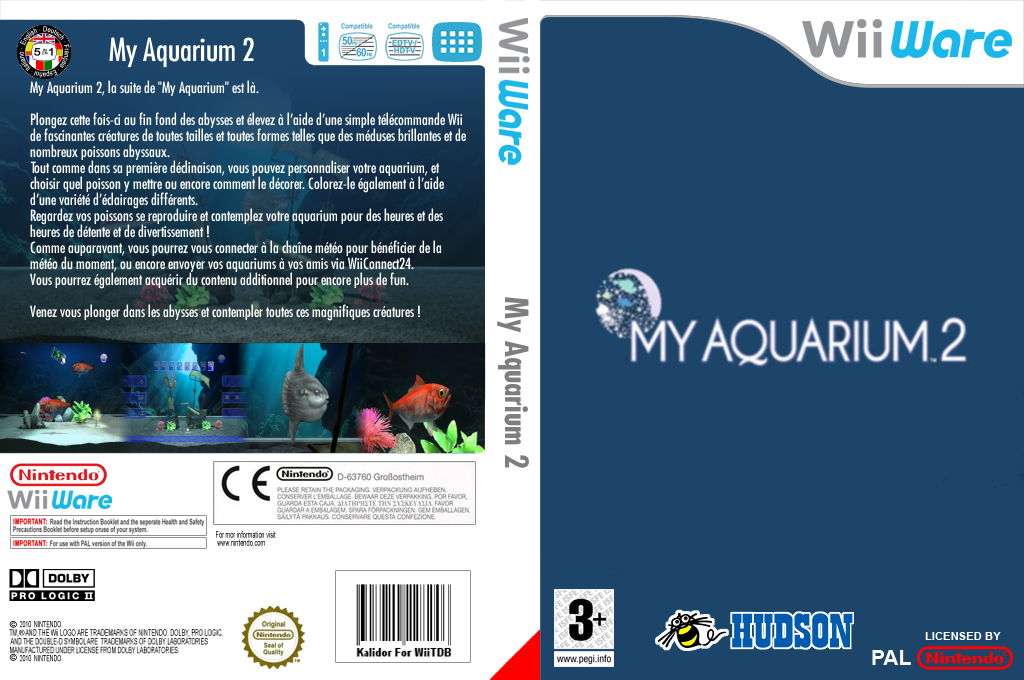 My Aquarium 2 Wii coverfullHQ (W2OP)