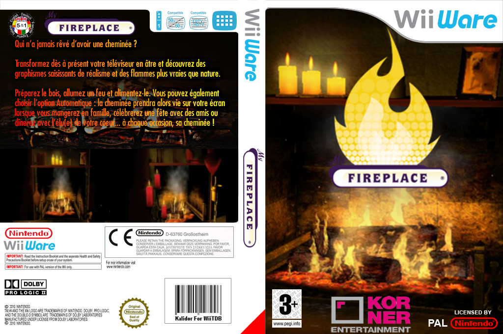 My Fireplace Wii coverfullHQ (W2YP)