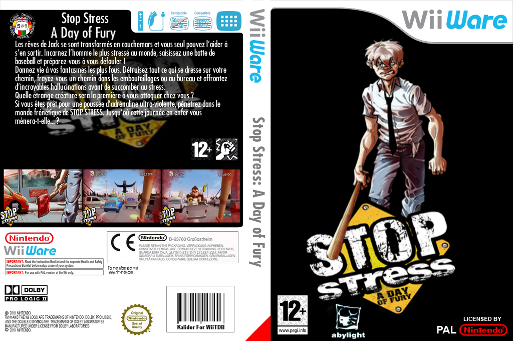 Stop Stress:A Day of Fury Wii coverfullHQ (W44P)