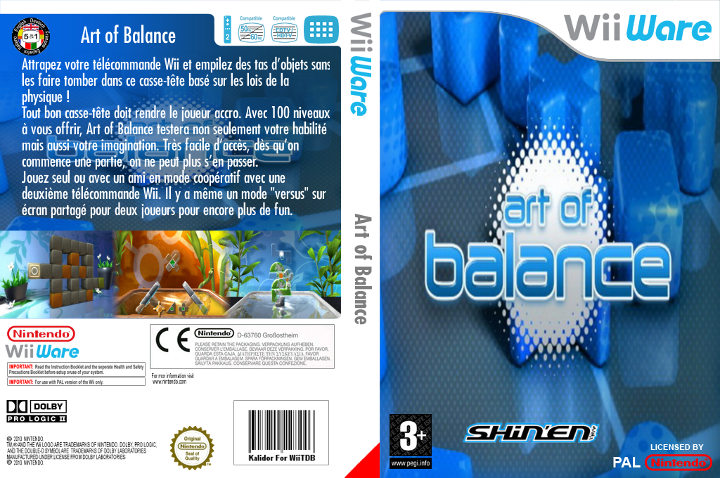 Art of Balance Wii coverfullHQ (WABP)