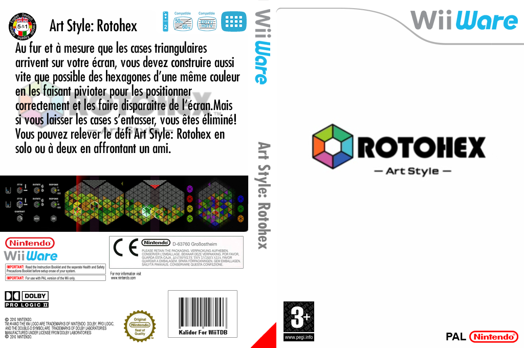ArtStyle:ROTOHEX Wii coverfullHQ (WDHP)