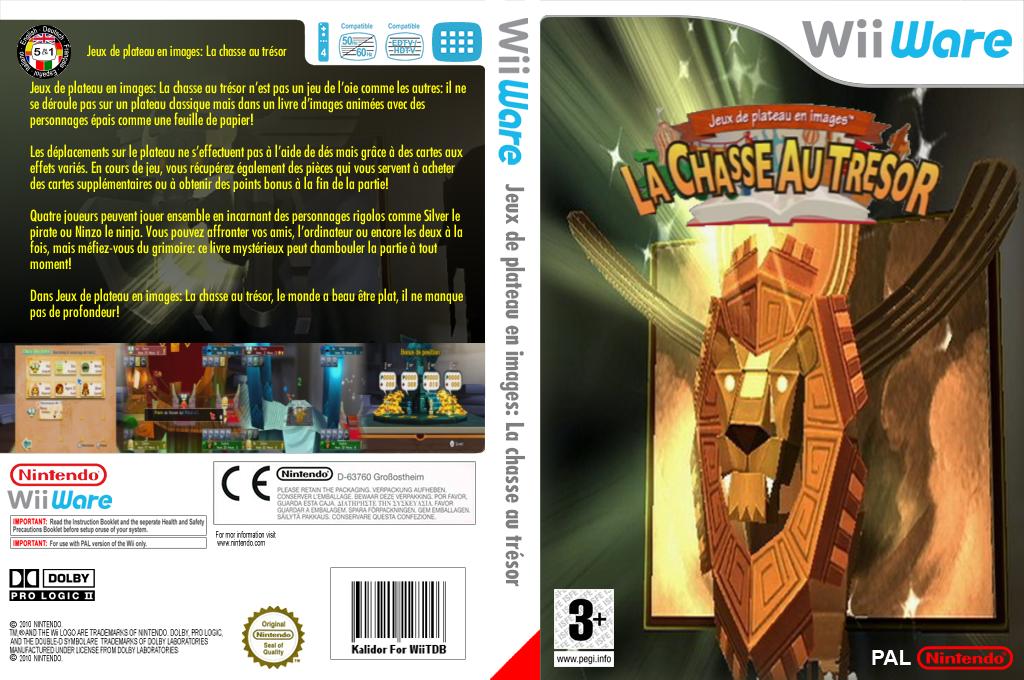 Jeux de plateau en images:La chasse au trésor Wii coverfullHQ (WETP)