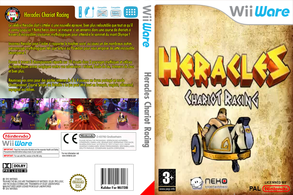 Heracles : Chariot Racing Wii coverfullHQ (WHEP)