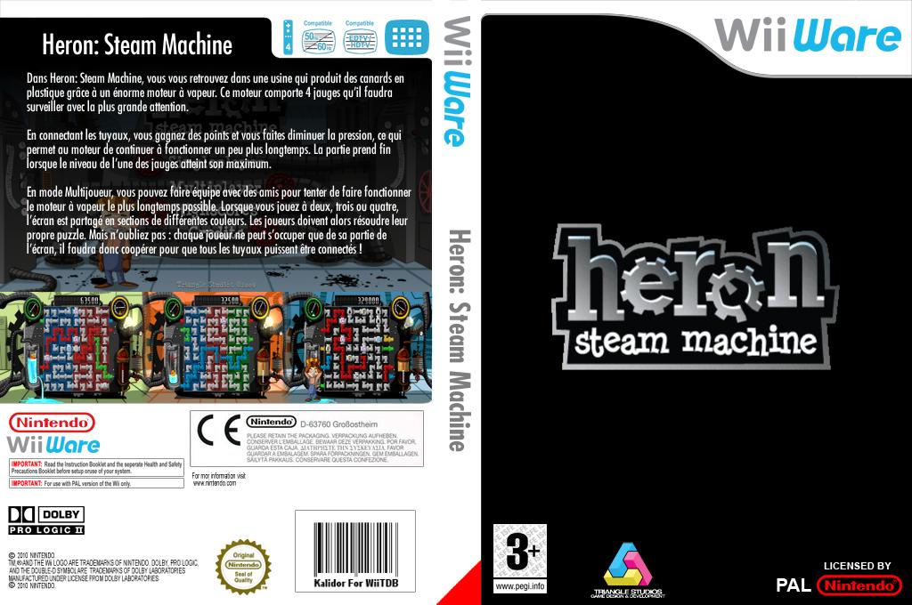 Heron : Steam Machine Wii coverfullHQ (WHRP)