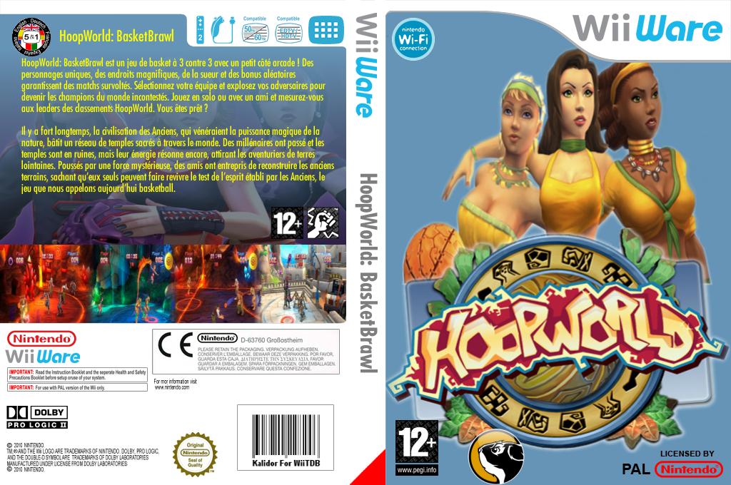 HoopWorld:BasketBrawl Wii coverfullHQ (WHWP)