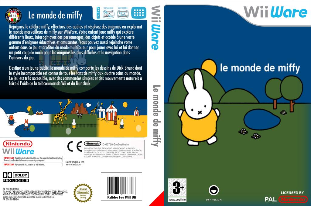Le monde de Miffy Wii coverfullHQ (WMWP)