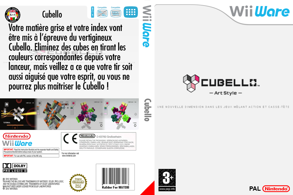 Art Style:CUBELLO Wii coverfullHQ (WPRP)