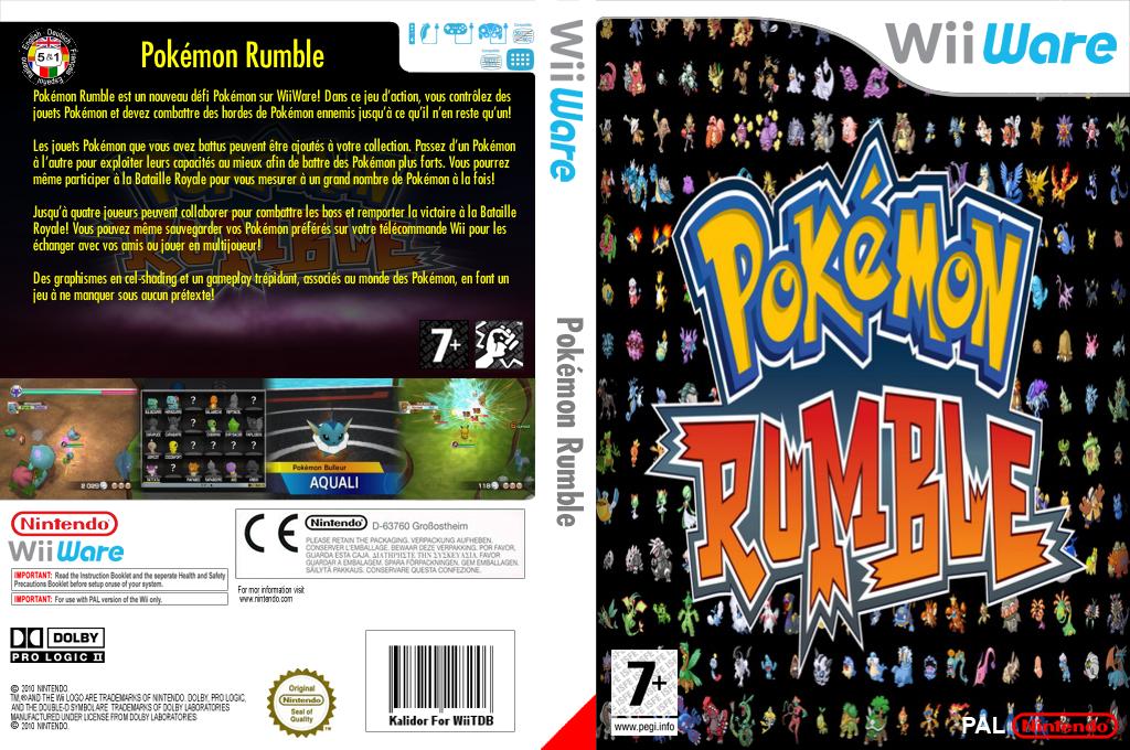 Pokémon Rumble Wii coverfullHQ (WPSP)