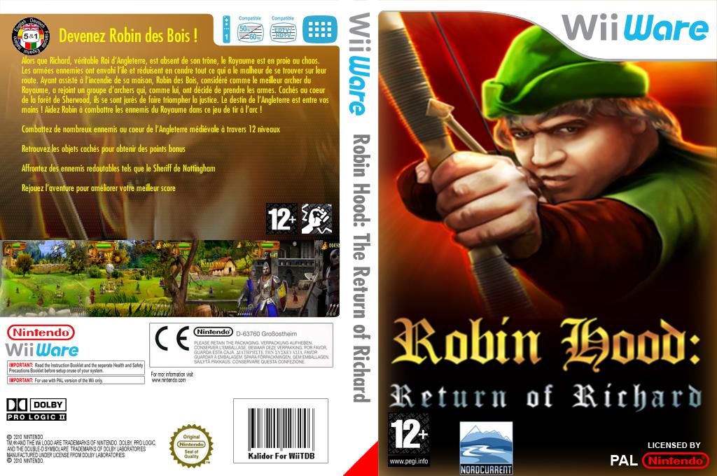 Robin Hood:Le Retour de Richard Wii coverfullHQ (WRRP)