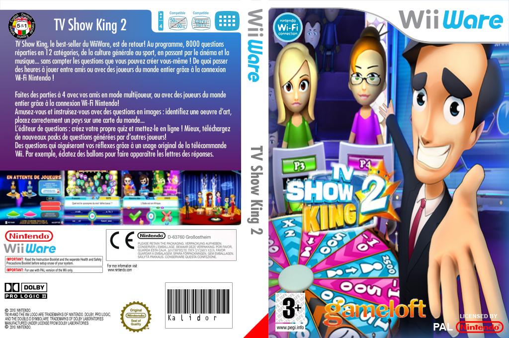TV Show King 2 Wii coverfullHQ (WTKP)