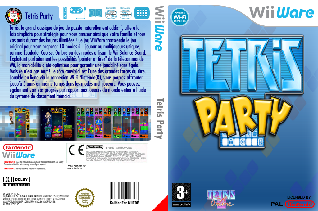 Tetris Party Wii coverfullHQ (WTPP)