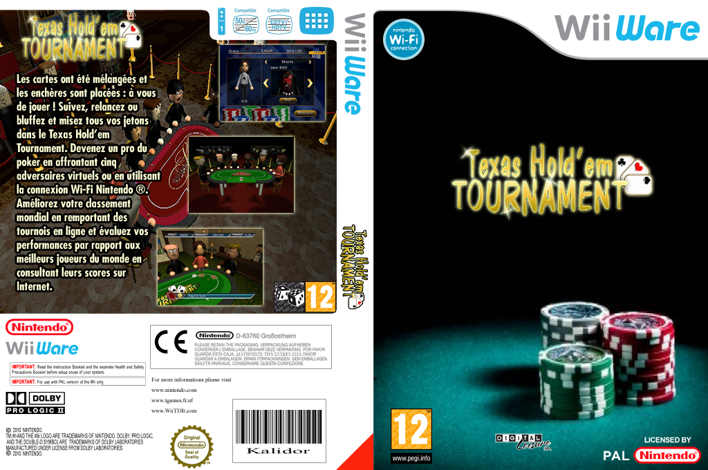 Texas Hold'em Tournament Wii coverfullHQ (WTXP)