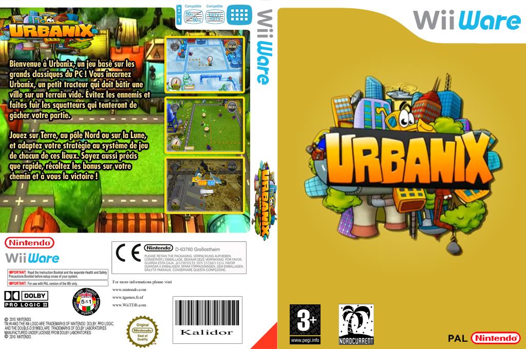 Urbanix Wii coverfullHQ (WURP)