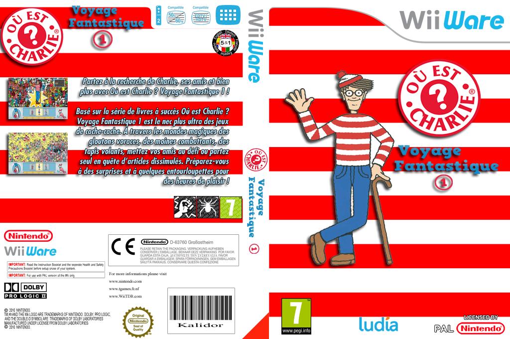Où est Charlie?Voyage Fantastique 1 Wii coverfullHQ (WWIP)